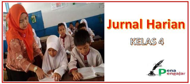 jurnal harian guru sd kelas 4