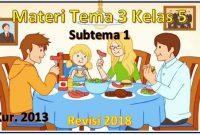 materi tema 3 kelas 5