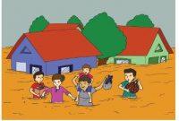 membantu bencana banjir