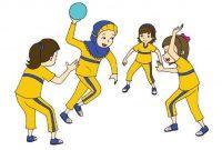 bermain bola tangan
