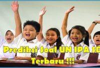 prediksi UN IPA SD 2019/2020