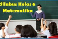 silabus matematika kelas 6 k13 revisi 2018 semester 1 dan 2