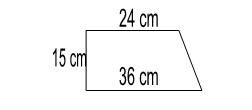 luas bangun trapesium