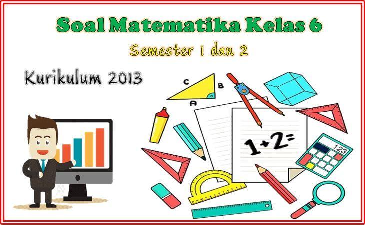soal matematika kelas 6 pdf
