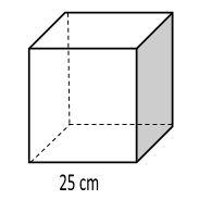 gambar volume kubus rusuk 25 cm