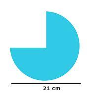 gambar seperempat lingkaran
